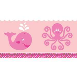 Whale Themed Plastic Table Covers   Girl Toys & Games