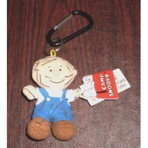 Peanuts Pig Pen Plush Doll Deluxe Keychain Camp Snoopy Key chain Pig