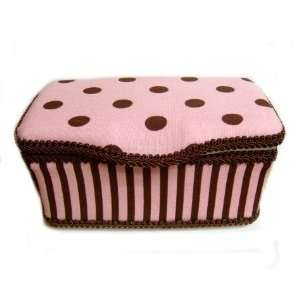 Pink Polka Dots Boutique baby wipes case Baby