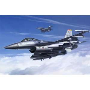 F16CJ Block 50 Fighting Falcon Aircraft (Plastic Models) Toys & Games