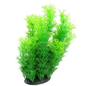 Como Fish Tank Aquarium Decoration Green Plastic Manmade