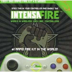 Xbox 360 Intensafire Rapid Fire Kit with Free No Scope