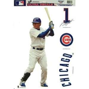CHICAGO CUBS KOSUKE FUKUDOME REMOVABLE CAR TRUCK WINDOW WALL DECAL SET