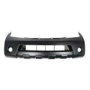 DK1 Nissan Pathfinder Primed Black Replacement Front Bumper Cover