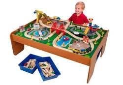KidKraft Ride Around Train Set and Table Toys & Games