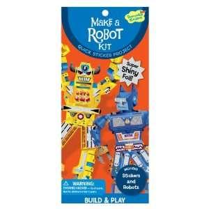 com Peaceable Kingdom / Make a Robot Quick Sticker Kit Toys & Games
