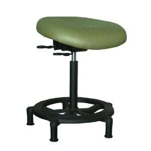 Office Master WS15VS Vinyl Sit/Stand Stool w/ Tilting Seat