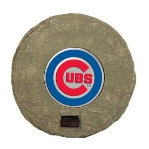 Chicago Cubs MLB Solar Stepping Stone