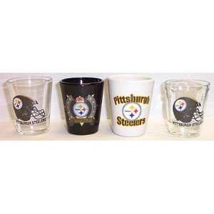 The Pittsburgh Steelers NFL Football Team Set of 4