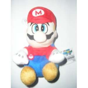 Nintendo Super Mario Brothers ~ Mario 8 Plush Doll & suction cup