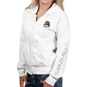 Pittsburgh Panthers Sweatshirts : Pittsburgh Panthers Ladies White