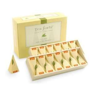 Tea Forte Green Mango Peach   Green Tea   48 pcs in Event Box. Organic