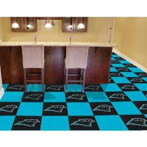 Carolina Panthers NFL Team Logo Carpet Tiles