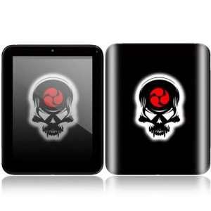 HP TouchPad Decal Skin   Samurai Death Skull