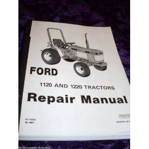 Ford 1120/1220 Tractors OEM Service Manual Ford 1120/1220