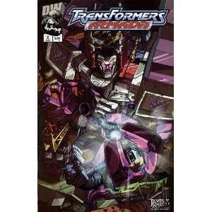 TRANSFORMERS ARMADA, #2, August 2002 (Volume 1): Chris