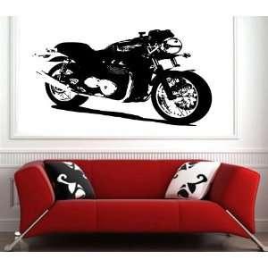 Wall Sticker Mural Vinyl Motorcycles Triumph Thruxton 900 S6414