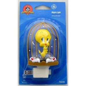 Looney Tunes Tweety Bird Night Light   GE, With On/Off