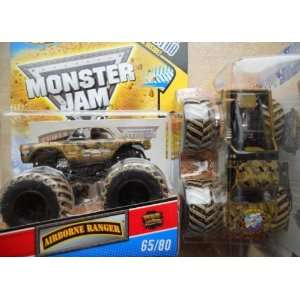 Wheels Monster Jam #65/80 AIRBORNE RANGER 164 Scale Collectible Truck