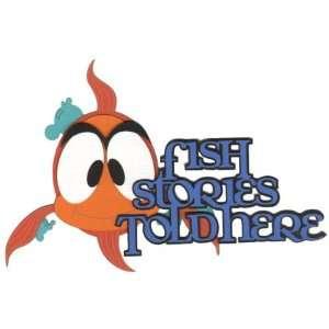 Fish Stories Laser Die Cut