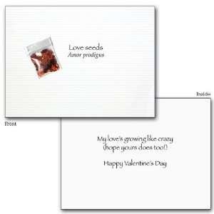 LOVE SEEDS VALENTINE CARD   JCB VN 0245