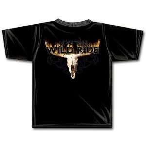 Cowboy Brand Flaming Skull T Shirt