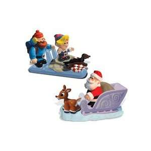 Rudolph Adventures Pull n Go Fun Pack Set of 2 Toys & Games