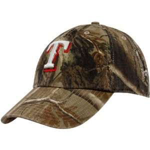Twins 47 Texas Rangers Real Tree Camo Cleanup Adjustable Hat: