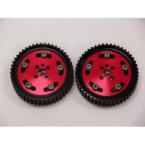 OBX Red Adjustable Cam Gear   89 03 Nissan Skyline (RB20/RB26 Engines
