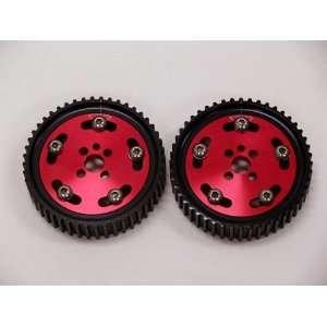 OBX Red Adjustable Cam Gear   89 03 Nissan Skyline (RB20/RB26 Engines