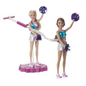 Barbie Pom Pom Divas Fly Girls Barbie and Teresa  Toys & Games