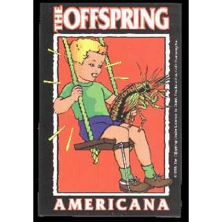 The Offspring   Americana Logo with Boy   Sticker / Decal