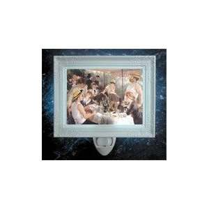 Luncheon of the Boating Party Porcelain Night Light Home Improvement