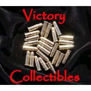 25 Replica Bullets   Colt Denix Gun Revolver Dummy Ammo