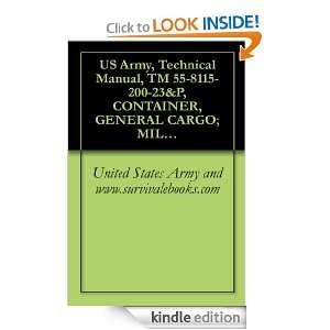 Army, Technical Manual, TM 55 8115 200 23&P, CONTAINER, GENERAL CARGO
