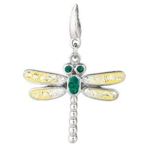 Sterling silver Crystal Firefly (Charm) Jewelry