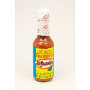 El Yucateco Red Salsa Picante de Chile Habanero Hot Sauce   4 oz