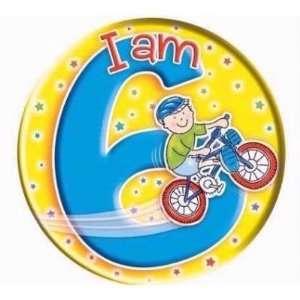 Expression Big Badges I Am 6 Boy  Toys & Games