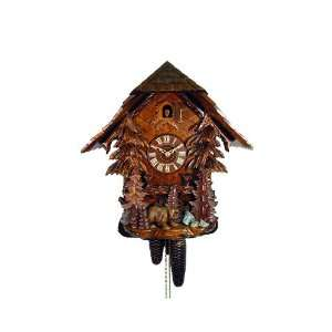 Cuckoo Clock Black Forest House, Trees, Bear Home & Kitchen