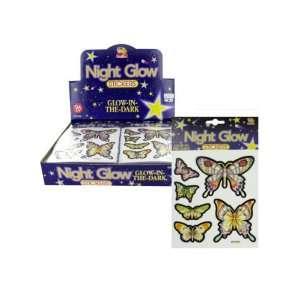 Choice Of Glow In The Dark Butterfly Stickers jpseenterprises