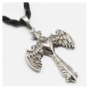 The Wing of Angel Stainless Steel Pendant  Sports