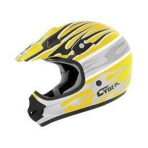 Visor for UX 31C Helmet, Yellow/White/Silver Blaze 640175 Automotive