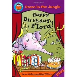 Down in the Jungle Happy Birthday Flora (Start Reading