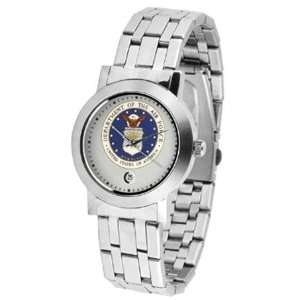 U.S. Air Force MILITARY Mens Stainless Dynasty Watch