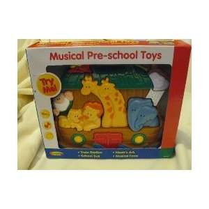 Noahs Ark Musical Pre School Toy by Navystar Toys