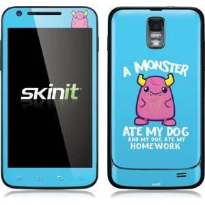 Skinit A Monster Ate My Homework Vinyl Skin for Samsung