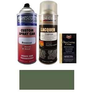12.5 Oz. Medium Gray Metallic (Cladding) Spray Can Paint Kit for 2000