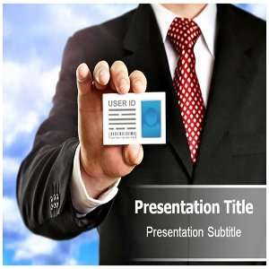 Identity Card Powerpoint Templates   Identity Card