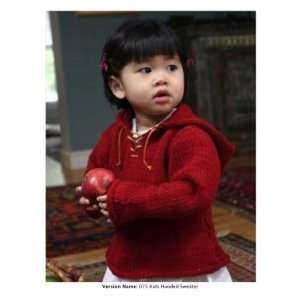 Mac & Me Kids Hooded Sweatshirt Knitting Pattern By The Each