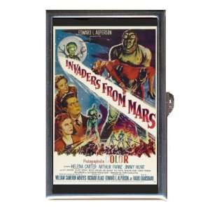 INVADERS FROM MARS HORROR SCI FI Coin, Mint or Pill Box